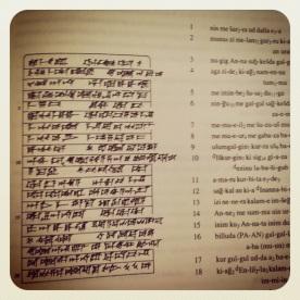 Los primeros escribas